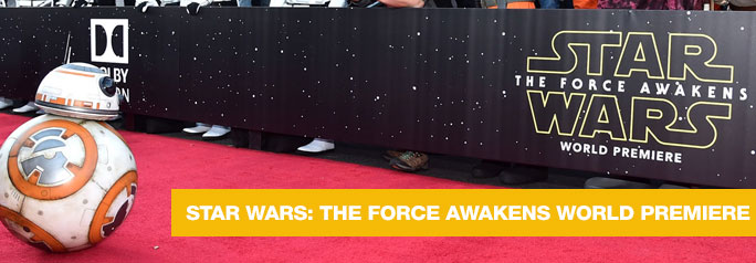 On Monday, December 14, 2015 the World Premiere of Star Wars: The Force Awakens took place at the Dolby, El Capitan and TCL Theatres in Hollywood, California. Most of the stars of the movie showed up for the big event, including Harrison Ford, Mark Hamill, Carrie Fisher, Adam Driver, Daisy Ridley, John Boyega, Domhnall Gleeson, and director […]
