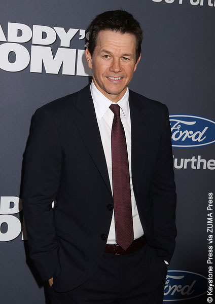 Mark Wahlberg at the NYC Daddy's Home premiere