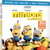 Minions Blu-ray Combo Pack review