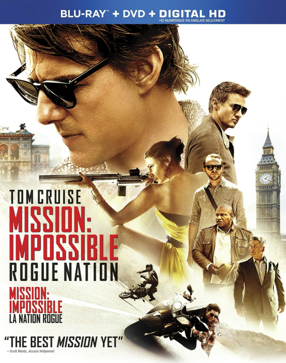 Mission: Impossible - Rogue Nation DVD