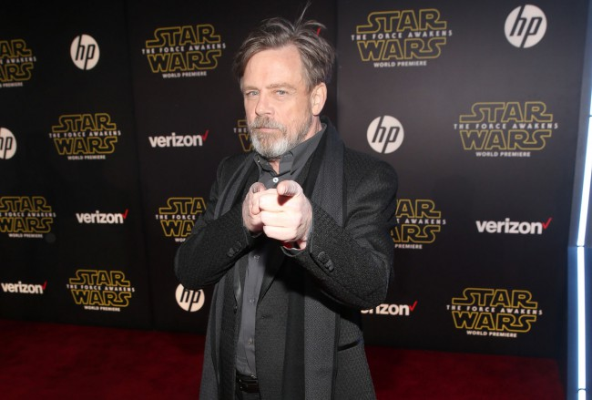 Mark Hamill returns to the franchise as Luke Skywalker, who's gone missing at the beginning of Star Wars: The Force Awakens.