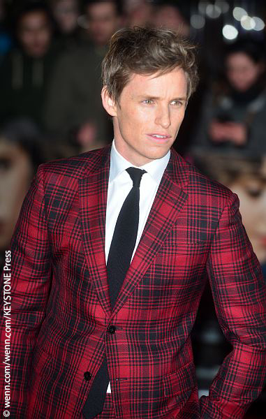 Eddie Redmayne at UK Premiere of Danish Girl