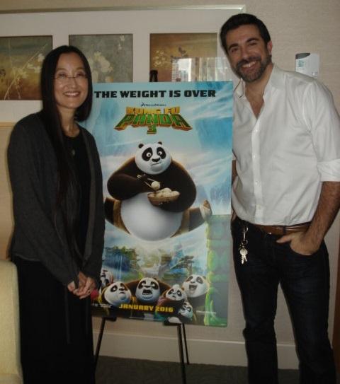 Jennifer Yuh Nelson and Alessandro Carloni