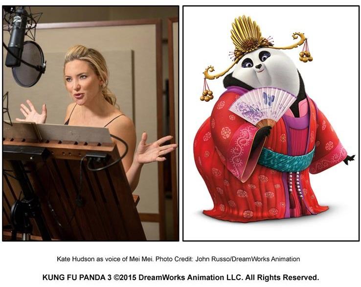 Kung Fu Panda 3 - Kate Hudson