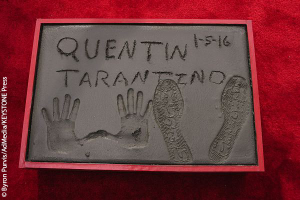 Quentin Tarantino Chinese Theatre Handprint Ceremony