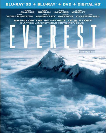 Everest Blu-ray and DVD