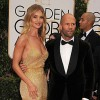 Rosie Huntington-Whiteley and Jason Statham engaged