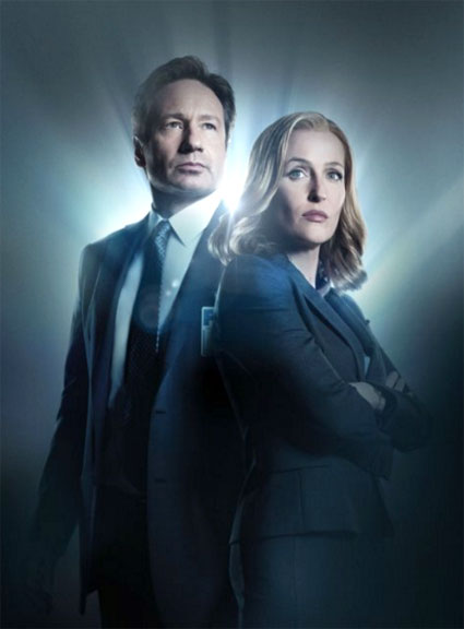 David Duchovny, Gillian Anderson in The X-Files Reboot
