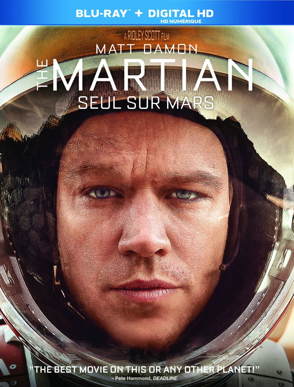 The Martian DVD/Blu-ray