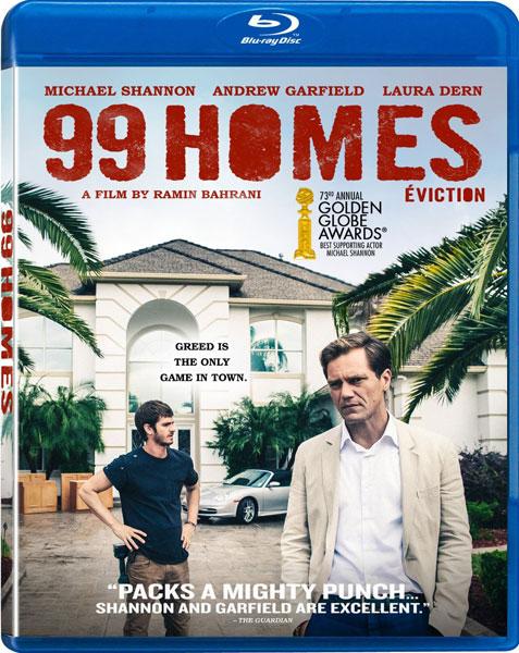 99 Homes on Blu-ray