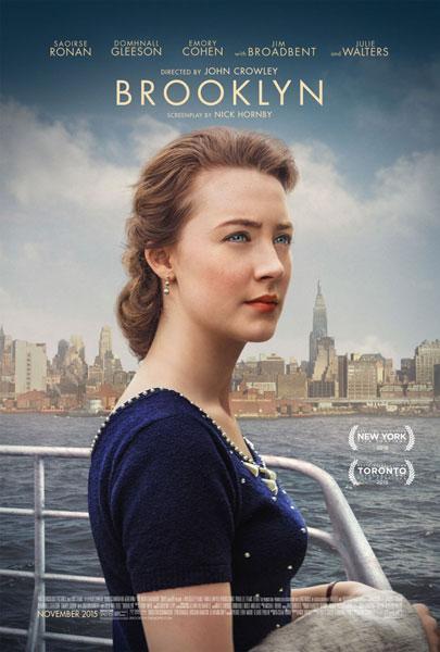 Brooklyn movie poster starring Saoirse Ronan