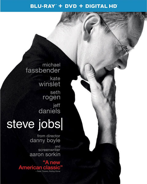 Steve Jobs on Blu-ray and DVD