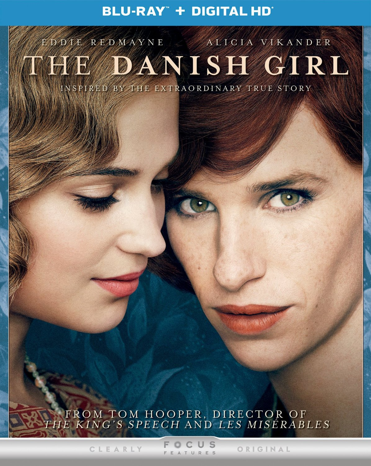The Danish Girl Blu-ray
