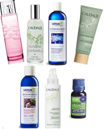 Valetine's Day Prize Pack from Caudalie and Lotus Aroma