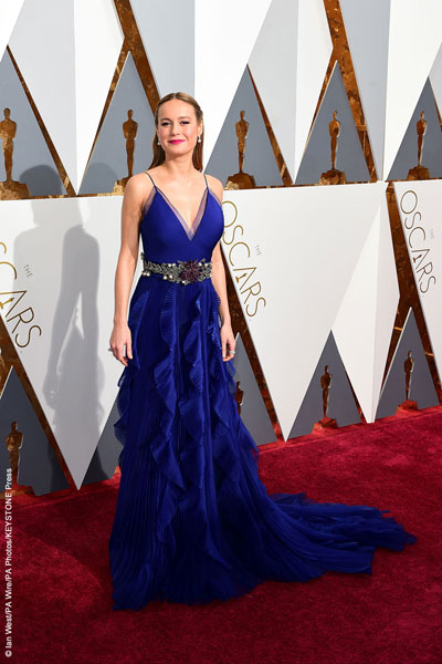 Brie Larson at the 88th Academy Awards