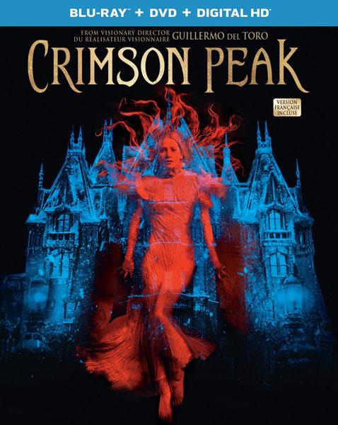 Crimson Peak Blu-Ray DVD