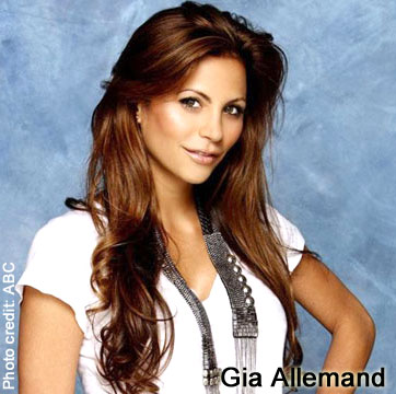 Former Bachelor contestant Gia Allemand
