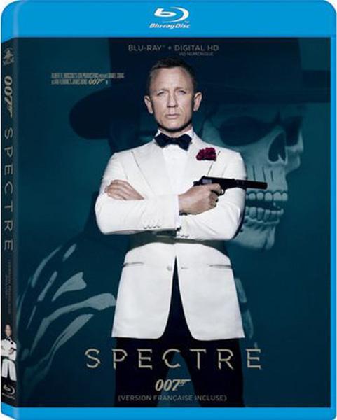 Daniel Craig stars as Bond in Spectre, now on Blu-ray