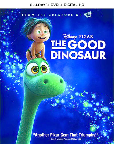 The Good Dinosaur on Blu-ray and DVD