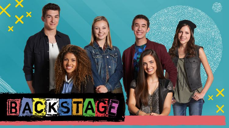 The cast of the new Family Channel series, Backstage