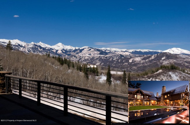 With soaring mountain and city views, supermodel Elle MacPherson's $35 million, 66-acre estate is the picture of rustic luxury, situated in McLain Flats in the exclusive gated community of Starwood, perched above Aspen, Colorado. Built in 2004, the 14,395 square foot mansion uses reclaimed aged oak, granite counter tops galore, French limestone floors, white oak […]
