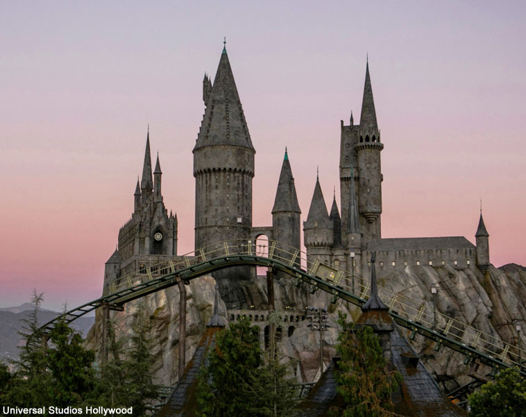 Flight of the Hippogriff ride in Hollywood