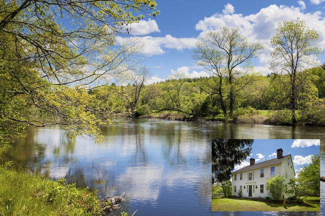 Admittedly one of the more humble abodes on the list, small town Texan girl Renee Zellweger's 39-acre, 18th century farm, known as The Cotton Tavern, is located in rural, but beautiful Pomfret Center, Connecticut. On her $1.6 million property sits a 3,400 square foot renovated Colonial-style home with three bedrooms, seven fireplaces, a wood-panelled library, […]