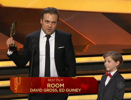 Room wins Best Film at the Canadian Screen Awards