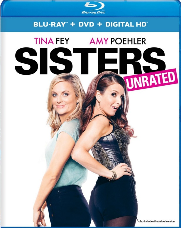 Sisters Blu-ray starring dynamic duo Tina Fey and Amy Poehler