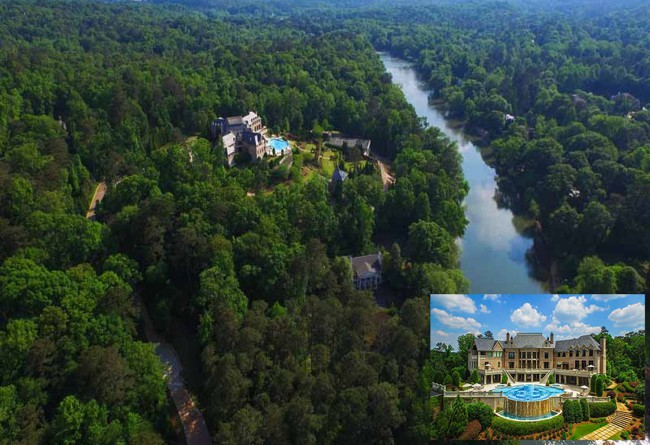 All those Madea sequels have certainly paid off handsomely. Director Tyler Perry's $25 million palatial mansion in Buckhead, Atlanta is perched atop 17 acres of land with views of the 430-mile-long Chattahoochee River. The 34,688 square foot home features seven bedrooms and 14 baths, a two-story library, stately formal rooms, resort-style infinity pool, lighted tennis […]