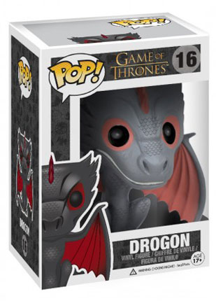 Pop! Vinyl Drogon figure from Game of Thrones