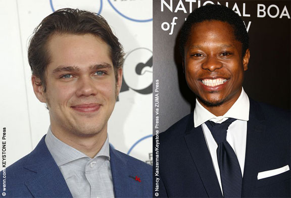 Ellar Coltrane and Jason Mitchell