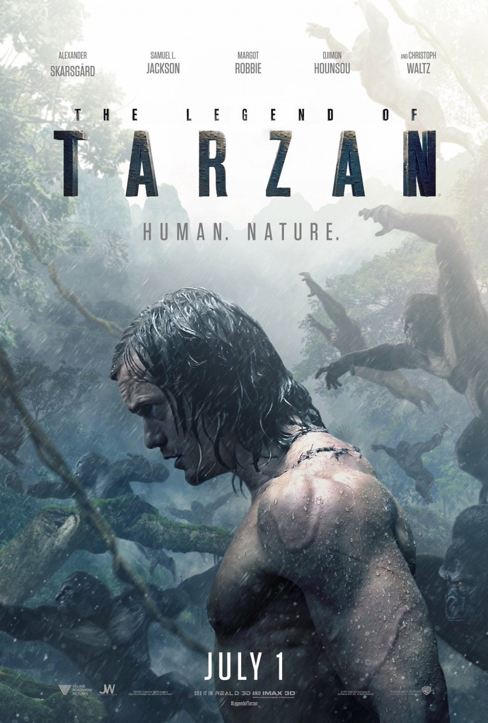New movies in theaters - The Legend of Tarzan and more