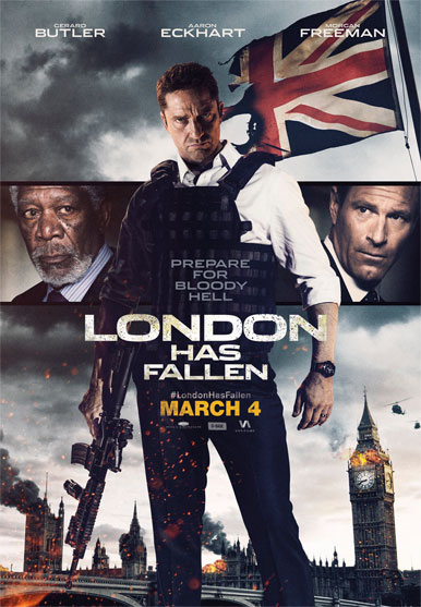 London Has Fallen leads this week's top trailers