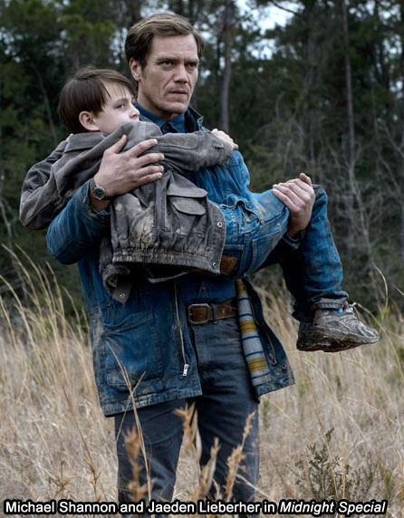 Michael Shannon and Jaeden Lieberher Midnight Special