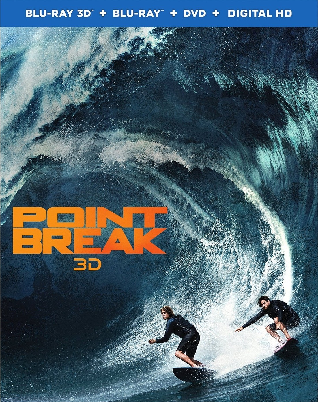 Point Break on Blu-ray and DVD