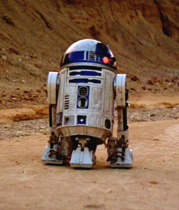 Star Wars: A New Hope Movie Still R2-D2