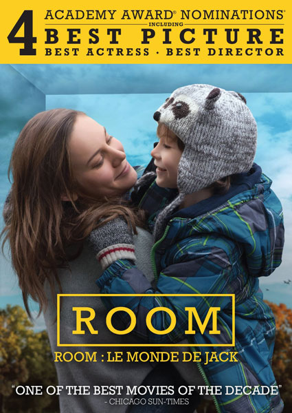 Room on Blu-ray and DVD