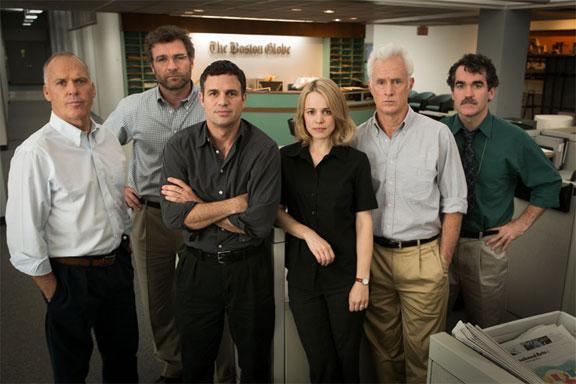 Spotlight cast