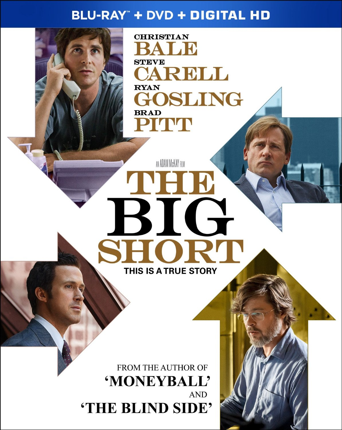 The Big Short on Blu-ray and DVD