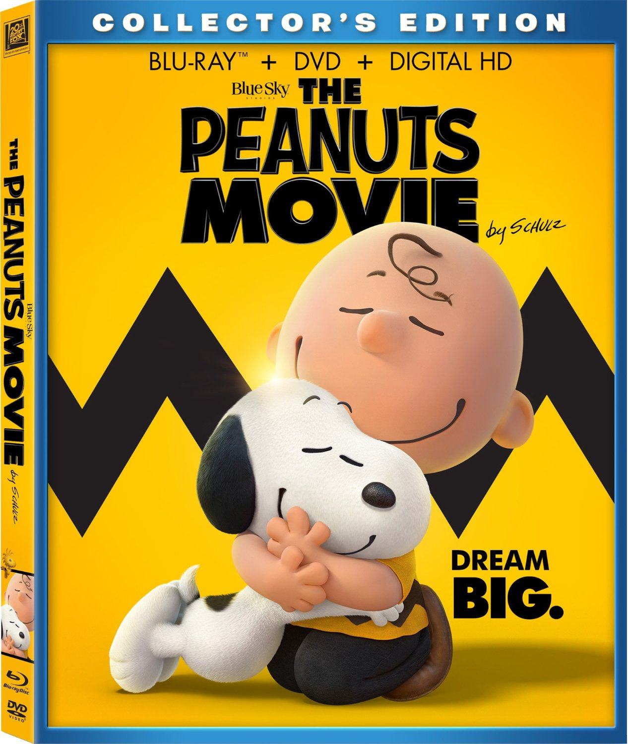 The Peanuts Movie on Blu-Ray and DVD