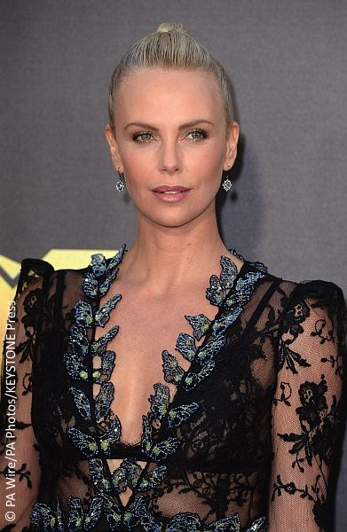 Charlize Theron at the MTV Movie Awards 2016