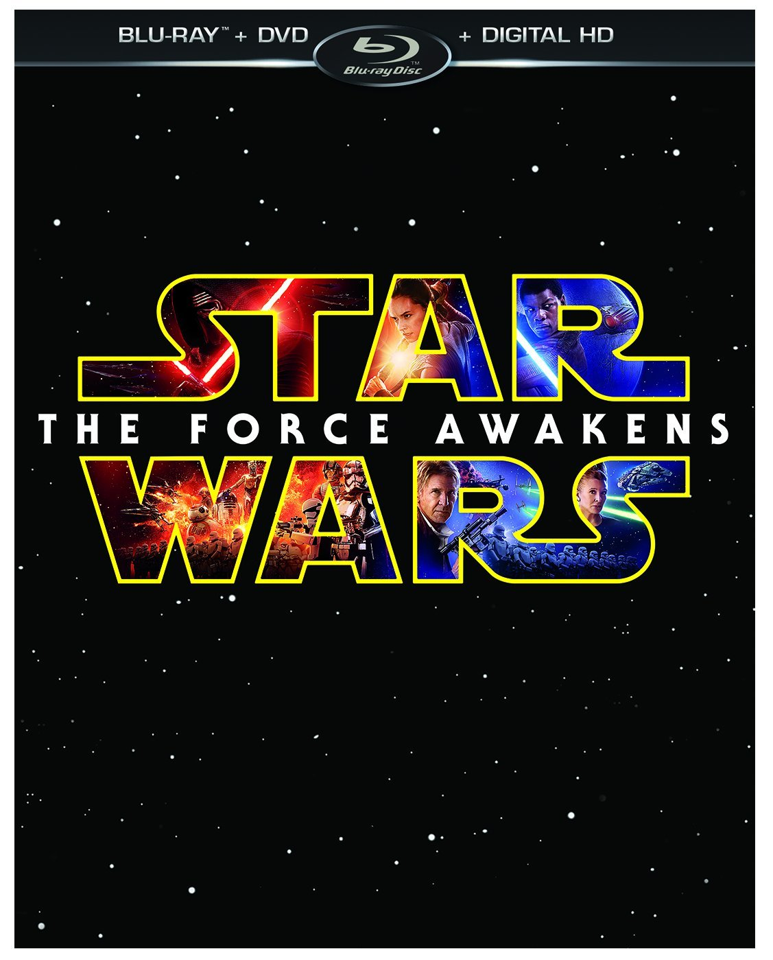 Star Wars: The Force Awakens on Blu Ray & DVD