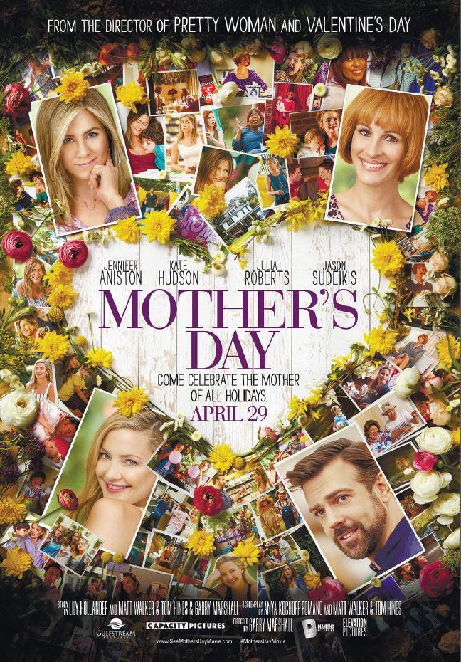 Jennifer Aniston and Kate Hudson star in Mother's Day