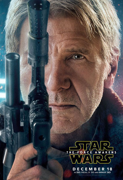 Harrison Ford Star Wars poster