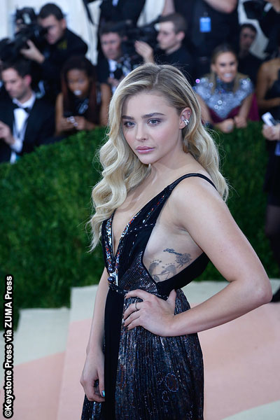 Chloe Grace Moretz at the 2016 MET Gala