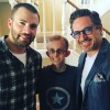Robert Downey Jr., Chris Evans and Gwyneth Paltrow visit young cancer patient
