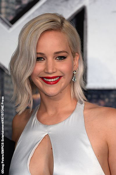 Jennifer Lawrence at X-Men: Apocalypse London Fan Screening