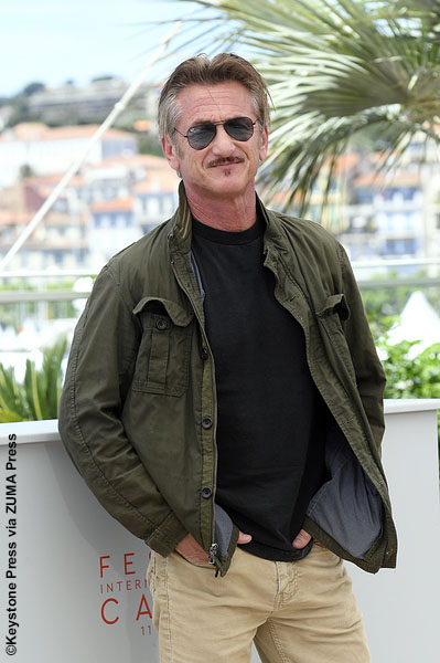Sean Penn at Cannes Film Festival