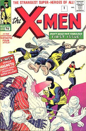 X-Men Early Comic